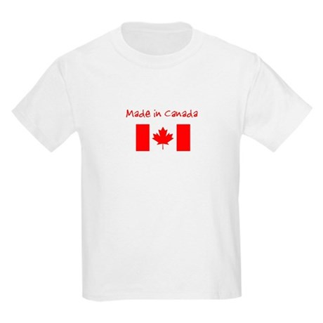 Made in Canada Kids Light T-Shirt