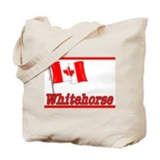 Canada Flag - Whitehorse  Tote Bag