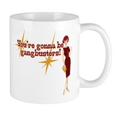 Mad Men Gangbusters Mug Mugs