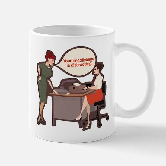 Joan Holloway Decolletage Mug Mugs