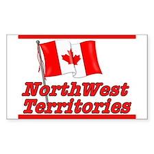 Canada Flag - Northwest Territories Bumper Stickers