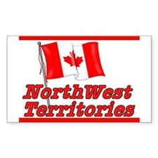 Canada Flag - Northwest Territories Decal