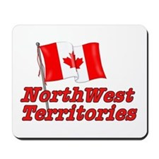 Canada Flag - Northwest Territories Mousepad