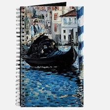 Le Grand Canal de Venise par Edouard Manet Journal