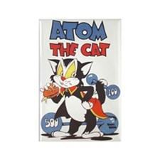 Atom The Cat Rectangle Magnet