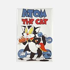 Atom The Cat Rectangle Magnet