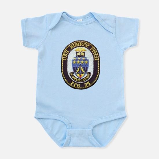 USS AUBREY FITCH Infant Bodysuit