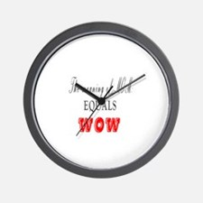 MOTHERS DAY MEANING OF MOM Wall Clock