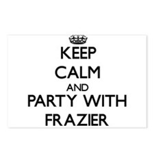 Keep calm and Party with Frazier Postcards (Packag