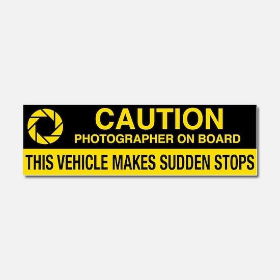 Cute Photographers Car Magnet 10 x 3