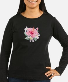 Hibiscus And Plumeria Long Sleeve T-Shirt