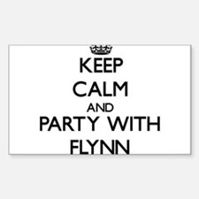 Keep calm and Party with Flynn Decal