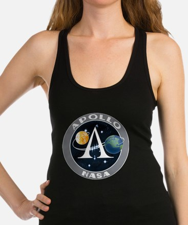 apollo program Racerback Tank Top