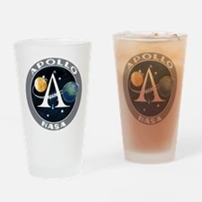 Apollo Program Drinking Glass