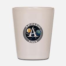 Apollo Program Shot Glass