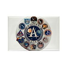 Commemorative Logo Rectangle Magnet