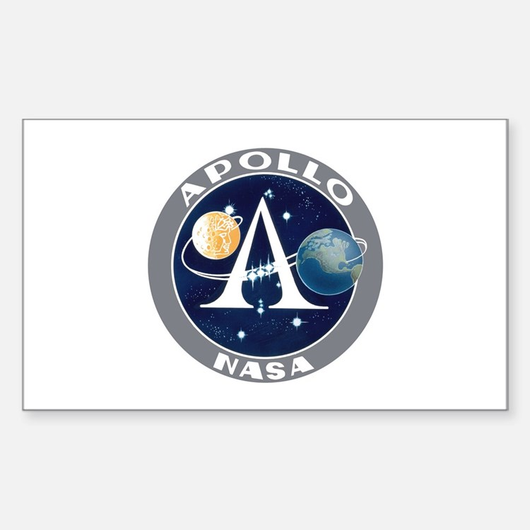 Apollo Program Sticker (Rectangle)