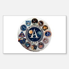 Commemorative Logo Sticker (Rectangle)