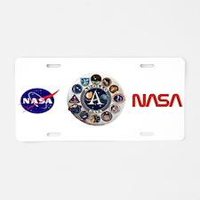 Apollo Commemorative Aluminum License Plate