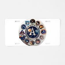 Commemorative Logo Aluminum License Plate