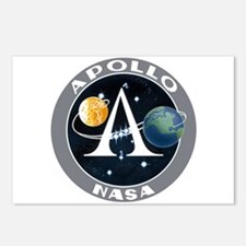 Apollo Program Postcards (Package of 8)