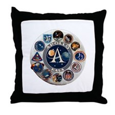 Commemorative Logo Throw Pillow