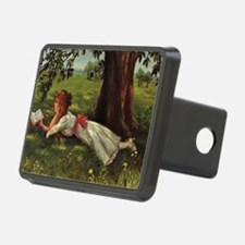 Reading Under A Tree Hitch Cover