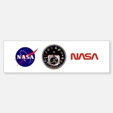 Crews of Apollo Bumper Bumper Sticker