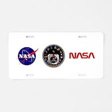 Crews of Apollo Aluminum License Plate