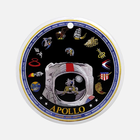 Crews of Apollo Ornament (Round)