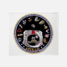 Crews of Apollo Throw Blanket