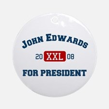 John Edwards for president Ornament (Round)