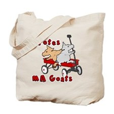 Totes MaGoats Red Wagon Tote Bag