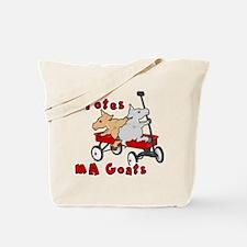 Totes MaGoats Red Wagon Tote Bag