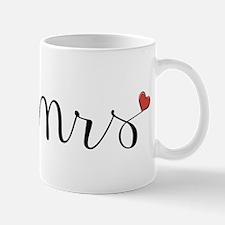 Mrs Heart Mug Mugs