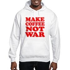 Make Coffee Not War Hoodie