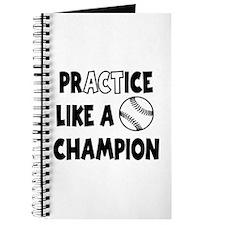 PRACTICE BASEBALL Journal