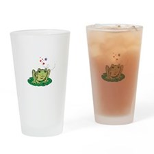 Toadally Cute Drinking Glass