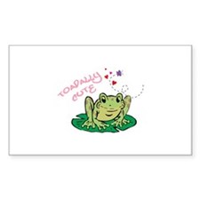 TOADALLY CUTE Decal
