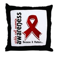 Sickle Cell Anemia Awareness5 Throw Pillow