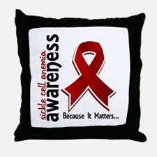 Sickle Cell Anemia Awareness5 Throw Pillow