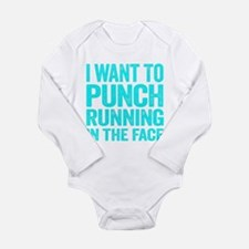 I Want To Punch Running In The Face Body Suit
