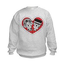 Sugar Skull Couple Sweatshirt