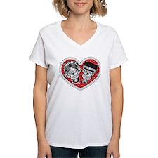 Sugar Skull Couple T-Shirt