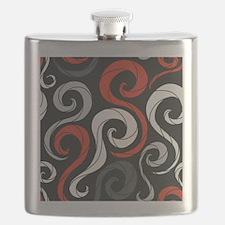 Swirls Flask