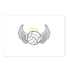 Volleyball Angel Postcards (Package of 8)