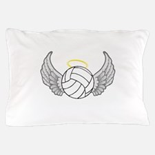 Volleyball Angel Pillow Case