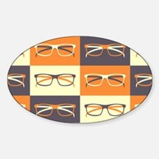 Hipster Glasses Decal