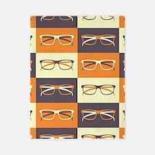Hipster Glasses Twin Duvet