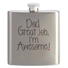 Dad Great job, Im Awesome! Flask